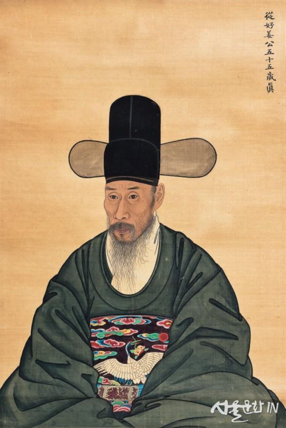 도2. 작가미상, 강인 초상, 조선 1783, 비단에 색, 구10094.jpg