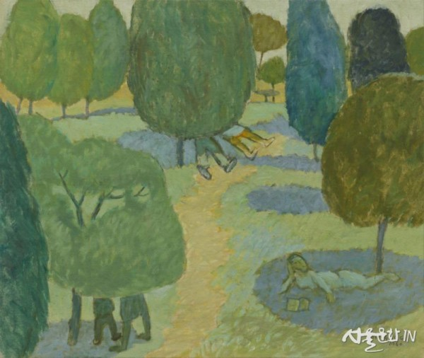백영수,녹음,1960,캔버스에 유채 60x72 01.jpg