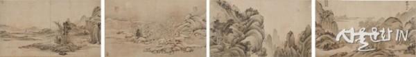 정선_사계산수화첩, 1719년 01.jpg