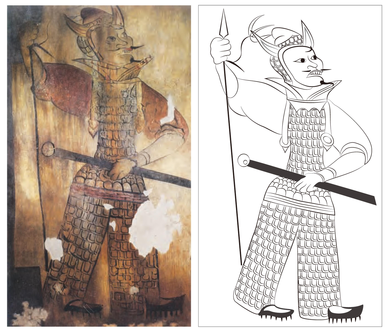 1500년 전 고구려인의 세계관을 그려낸 벽화 속 문양의 삽화, 누구나 쉽게 다운로드