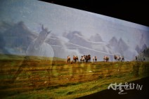 [전시장 스케치] 국립중앙박물관 특별전 '칸의 제국 몽골'전 ①