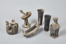 아라가야의 중심지인 함안 말이산 고분군에서 다수의 상형토기 발견