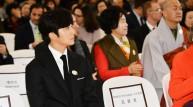 배우 정일우가 국립중앙박물관 홍보대사로서의 첫 행보를 시작