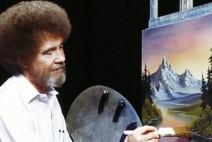 저와 함께 그림을 그려 볼까요~ 어때요, 참 쉽죠? 밥 로스 다시 시청자를 찾아오다.