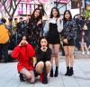 5인조 걸그룹 '힌트'(Hint), 홍대 버스킹 무대를 뜨겁게 달구다.
