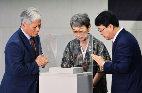 고려를 대표하는 또 다른 공예품 '나전국화넝쿨무늬합' 1점 일본에서 돌아오다.