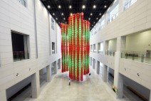 대구미술관, 소쿠리 5,376개가 모아 탄생한 최정화의 '카발라(Kabbala)' 설치