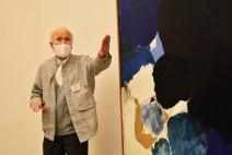 [미술관] 격자무늬로 완성된 한국 단색조 추상의 대표 화가 정상화 개인전